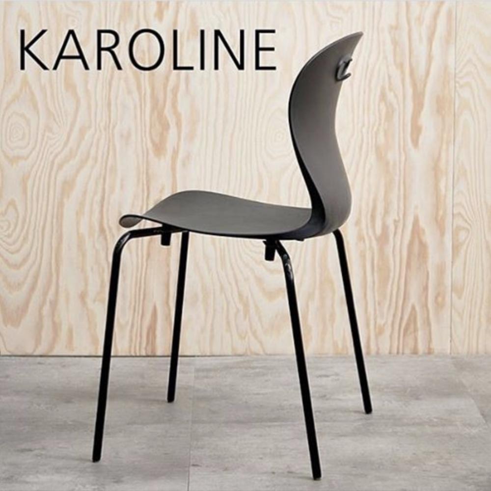 Upcycling-scandinavia-Karoline-chair-M-black-legs
